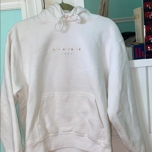 brandy melville los angeles sweatshirt